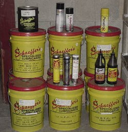 Oil & Grease Lubricants By Schaeffer